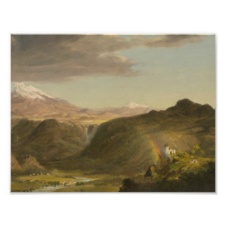 Frederic Edwin Church - South American Landscape Photograph