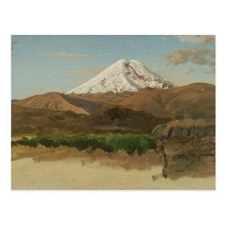 Frederic Edwin Church - Study of Mount Chimborazo Postcard