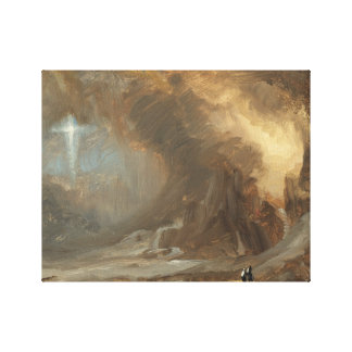 Frederic Edwin Church - Vision of the Cross Canvas Print