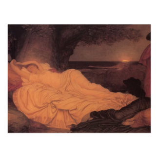 Frederic Leighton- Cymon and Iphigenia Postcard