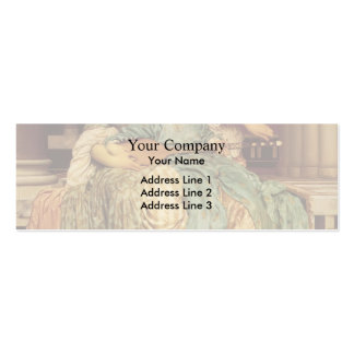 Frederic Leighton- Music Lesson Business Card Template