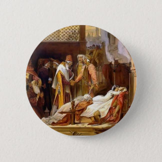 Frederic Leighton-Reconciliation of Montagues 6 Cm Round Badge