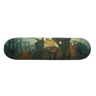 Frederic Remington Art Skateboard Deck