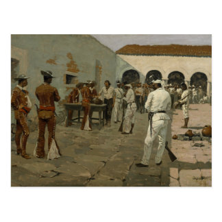Frederic Remington - The Mier Expedition Postcard