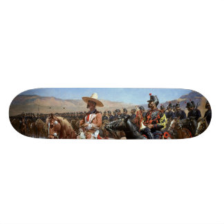 Frederic Remington's The Mexican Major (1889) Skate Deck