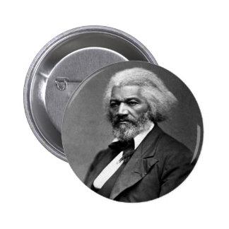 Frederick Douglass 6 Cm Round Badge