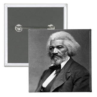 Frederick Douglass African American Civil Rights 15 Cm Square Badge