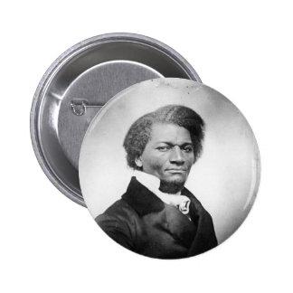 Frederick Douglass Portrait  ~ 1847 6 Cm Round Badge