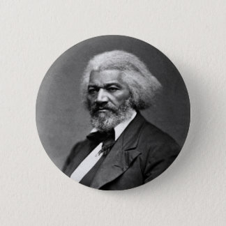 Frederick Douglass Portrait by George K. Warren 6 Cm Round Badge