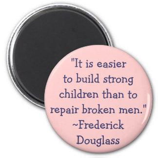 Frederick Douglass Strong Children Magnet