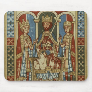 Frederick I with his two sons Mouse Pads