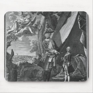 Frederick II  and His Nephew Frederick William Mouse Pad