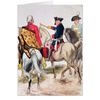 Frederick II  the Great Card