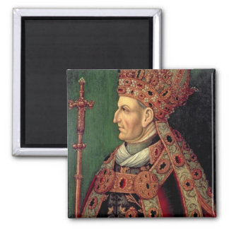 Frederick III of Germany  Holy Roman Emperor Square Magnet