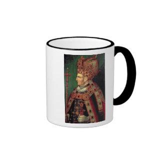 Frederick III of Germany  Holy Roman Emperor Ringer Mug