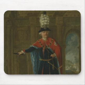 Frederick the Great dressed in the costume Mouse Pad