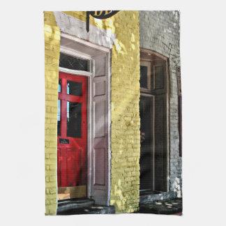 Fredericksburg VA - Deli and Gift Shop Tea Towel