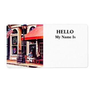 Fredericksburg VA - Outdoor Cafe