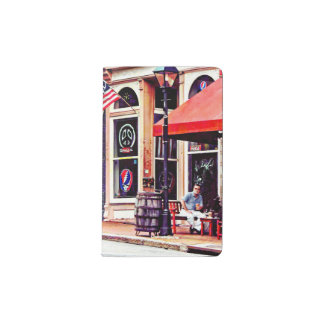 Fredericksburg VA - Outdoor Cafe Pocket Moleskine Notebook