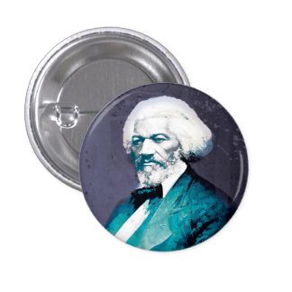 Fredrick Douglass Portrait - Graphic Depot 3 Cm Round Badge