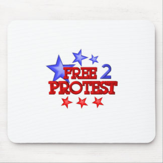 Free 2 Protest Occupy  on 30 items Mouse Pad