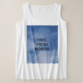 Free a from Bonds Plus Size Tank Top