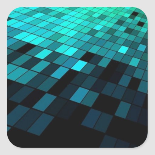 Free-Abstract-Background-Vector-Art ABSTRACT RANDO Square Sticker