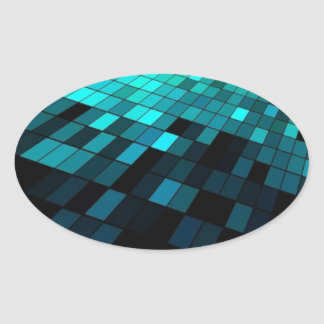 Free-Abstract-Background-Vector-Art ABSTRACT RANDO Oval Sticker