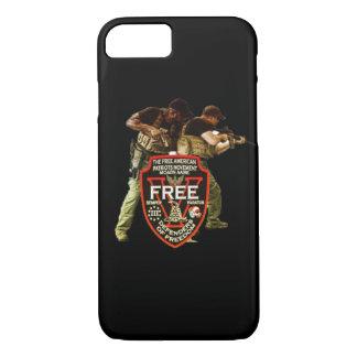 Free American Patriots Movement Tactics iPhone 7 Case