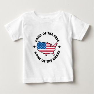 Free and Brave Baby T-Shirt