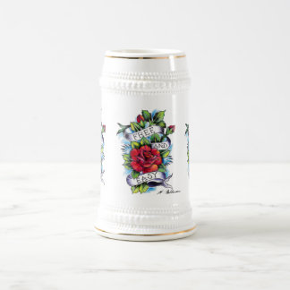 Free and Easy Beer Stein. Beer Stein