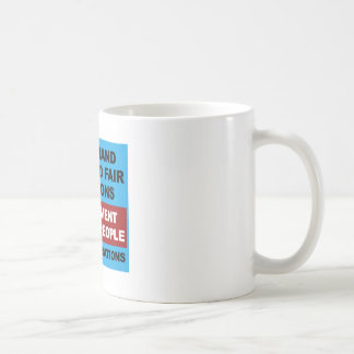 Free and Fair Elections Coffee Mug