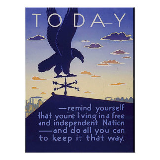 Free and Independent Nation Poster