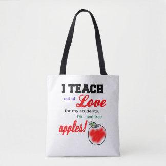 Free Apples tote