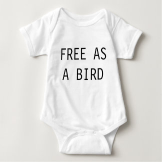 FREE AS A BIRD BABY BODYSUIT