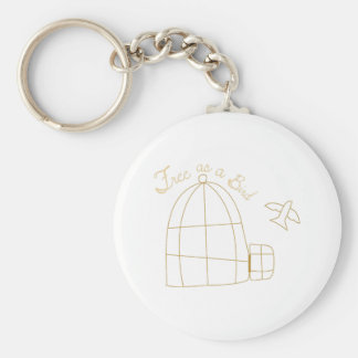 Free As A Bird Key Chain