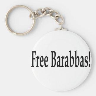 Free Barabbas! Key Chain