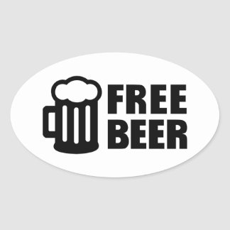Free Beer Stickers