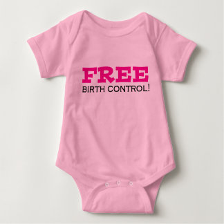 Free Birth Control Baby Bodysuit
