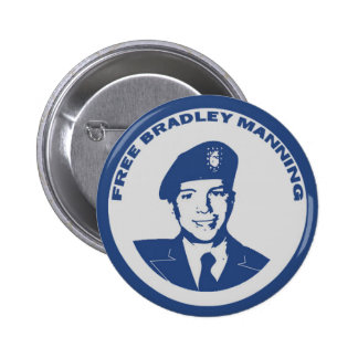 FREE Bradley Manning 6 Cm Round Badge
