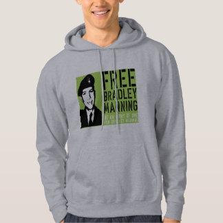 free Bradley Manning Hoodie
