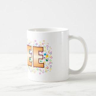 Free Bubble Tag Basic White Mug