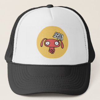 Free Bunny Hugs Trucker Hat