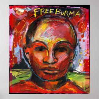 Free Burma Poster