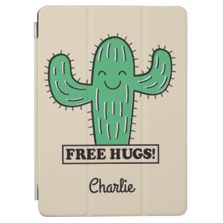 Free Cactus Hugs custom name device covers iPad Air Cover