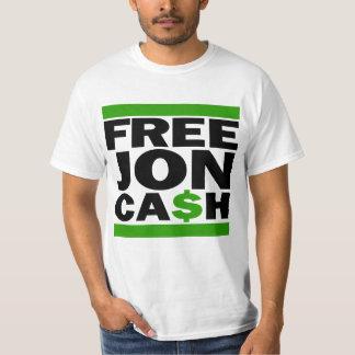 Free Cash white Tee Shirt