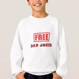 Free Dad Jokes Sweatshirt