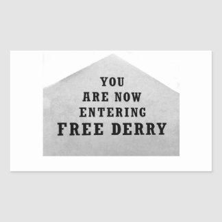 free derry wall sticker