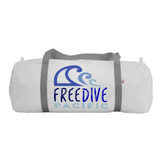 Free dive pacific gym duffel bag