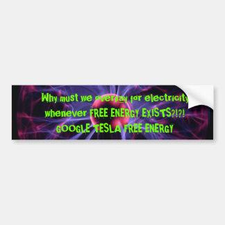 Free Energy Bumper Sticker